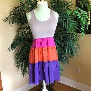 BCBG Razor-back dress